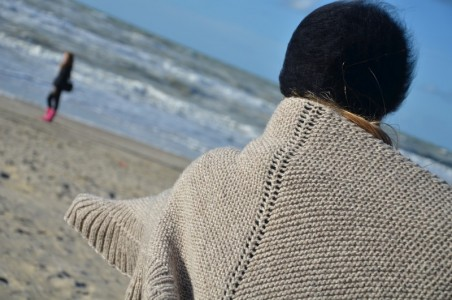 châle tricot