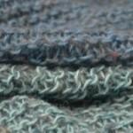 châle cocoon tricot droguerie