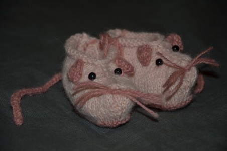 chaussons souris droguerie
