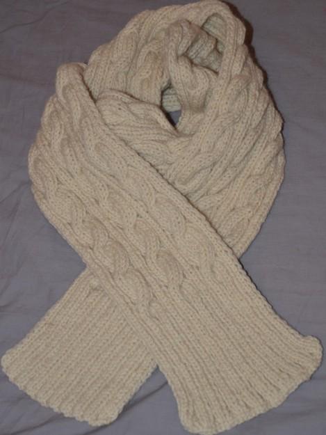 comment tricoter une belle echarpe
