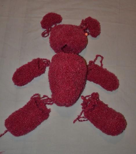 Comment tricoter un nounours nos conseils - Comment tricoter des chaussettes en laine ...