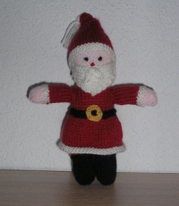 le-pere-noel en tricot