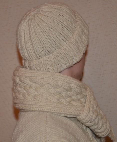 bonnet/ écharpe laine