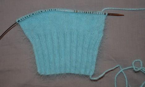 Comment tricoter des gants avec deux aiguilles - Comment tricoter des mitaines avec doigts ...