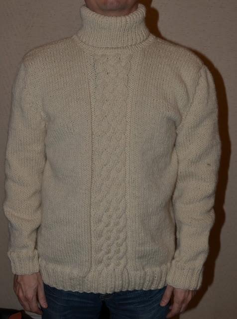 pull homme en laine des tricots tres mimie. Black Bedroom Furniture Sets. Home Design Ideas