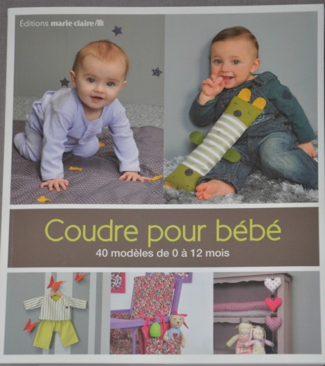 le livre coudre pour b b de cl mentine collinet des tricots tres mimie. Black Bedroom Furniture Sets. Home Design Ideas