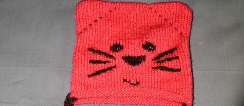 Modele tricot bonnet chat gratuit - Modele de bonnet a tricoter facile ...