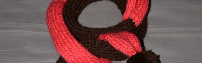 fbdbc6a5813 Comment tricoter une echarpe avec 2 couleurs