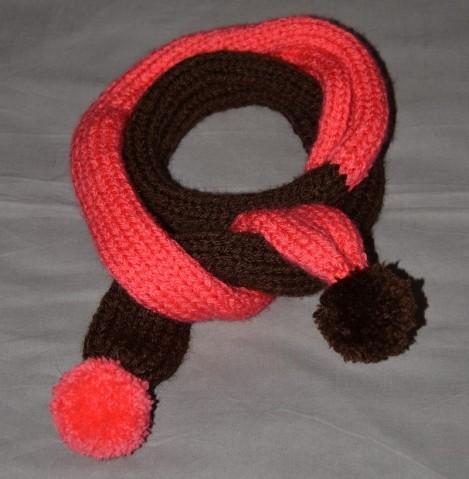 photo comment tricoter une echarpe pour bebe