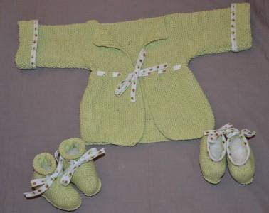 veste pour bébé Debbie Bliss