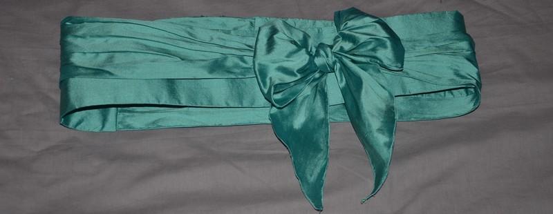 ceinture en soie