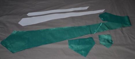 comment coudre une cravate en soie des tricots tres mimie. Black Bedroom Furniture Sets. Home Design Ideas